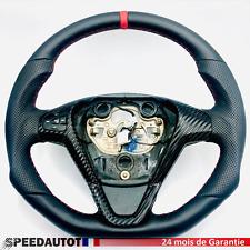 Tuning Volant Plat Cuir Ford Fiesta MK7 Anneau Rouge.24MOISDEGARANTIE