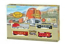 Bachmann SANTA FE FLYER W/E-Z TRACK SYSTEM Train Set #00647 HO Scale