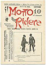 SATIRA-UMORISMO_Il Motto per Ridere_Ed. Aliprandi_Anno IV  N.50, 1892*_FORNARI