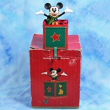 DISNEY Store Mickey Mouse Stocking Holder A Christmas To Remember in Box