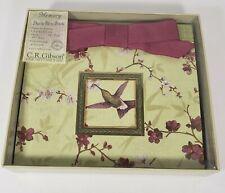 Memory Deluxe Brag Book C. R. Gibson Zen Garden Hummingbird 2004