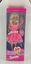 Birthday Surprise  Barbie Blond Hair & Pink Dress 1996, Ex Condition NIB