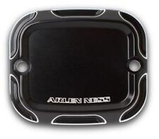 Arlen Ness Front Brake Master Cylinder Cover  Beveled Black 03-409*