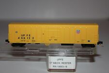 N Scale Red Cabose 18653-18 Union Pacific Fruit Express 57' Mech Reefer 466122