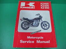 KAWASAKI z400 kz 500 kz550 manuale officina riparazione owner's service manual