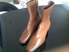 Pikolinos Tan Ankle Boots Size 40 UK 7