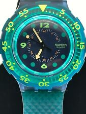 """Swatch Watch  """"Blue Moon""""  (SDN100)   Perfect Vintage 1991  New Battery"""