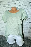 Italy T-Shirt Vintage Gr. 36 38 40 42 Shirt Puder khaki blogger 3D Print NEU