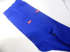 NIKE ROYAL BLUE JUNIOR FOOTBALL SOCKS RED TICK UK 2.5-5