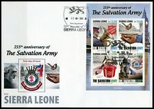 Sierra Leone 2020 - Salvation Army 155 years - New FDC