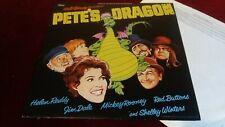 WALT DISNEY - PETE'S DRAGON - ORIGINAL UK LP - HELEN REDDY, JIM DALE