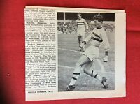 m2M ephemera 1966 football picture malcolm musgrove leyton orient