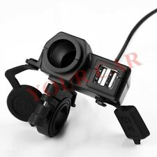 High power 4.2A dual USB Charger For Harley Sportster 883 1200 Road Glide UPS