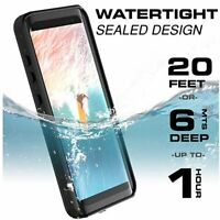 Built-in Screen Waterproof Case Cover for Samsung Galaxy S10 S9 S8 Plus Note 9 8
