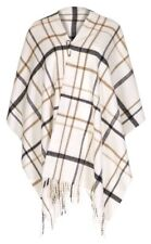 MARKS AND SPENCER BEST OF BRITISH PURE WOOL CHECKED WRAP SCARF £49.50 BNWT