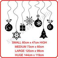 CHRISTMAS WINDOW DECORATION XMAS WALL STICKERS xmas shop window stickers  N10