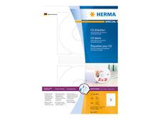 Herma Cd/dvd-etiketten Special Durchmesser 116 Mm weiß