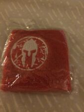 Spartan Race Elite Sprint Red Wristband New Sealed Fast Free Shipping