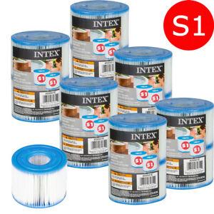 Intex S1 Filter Filterkartusche Kartusche Whirlpool Pure Spa 2er 6er oder 12er