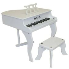 Schoenhut - White Baby Grand Pianos