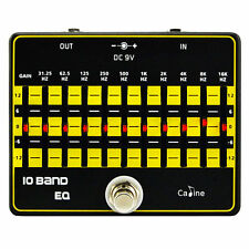 General Caline CP-24 EQ Equalizer Guitar Effect Pedal True Bypass 10-Band