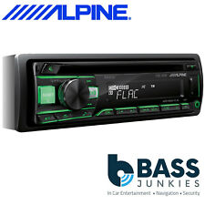 Alpine CDE-201R Car CD MP3 Android AUX USB Car Stereo Player with Green Display