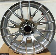 "4 New 18"" Silver Wheels Rims for BMW M3 CSL 5 Series 3 E90 325i 328i 335i -5646"