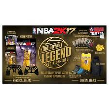 NEW NBA 2K17 Legend Edition Gold (PlayStation 4, PS4) Physical Copy Ships Fast!!