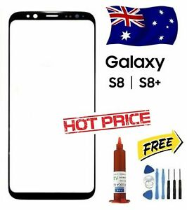 NEW Outer Front Glass Screen Replacement For Samsung Galaxy S8 / S8 Plus