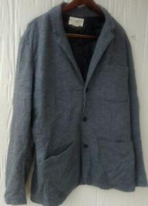 Denim & Supply Ralph Lauren Women's Gray Pea Coat Cotton Jacket Size XL