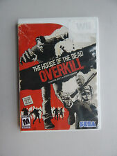 The House of the Dead: Overkill Game in Case! Nintendo Wii