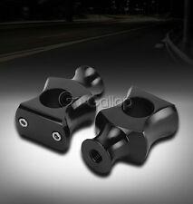 "1"" Motorcycle Black Handlebar Risers For Honda Shadow ACE Aero Spirit 750 1100"