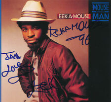 "The ""Mouse and Man"" CD signed by Eek A Mouse"
