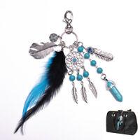 Dreamcatcher Keychain Charm Pendant Purse Bag Car Key Ring Phone Keyring Gift