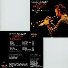 CHET BAKER  live in Sweden, Gothenburg 1983