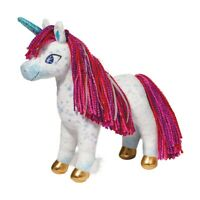 Plush UNI the UNICORN Stuffed Animal w/ Yarn Hair - Douglas Cuddle Toys - #7585