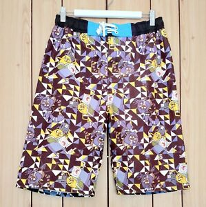 Cartoon Network Men's Board Shorts Size 16 Polyester Beach Casual Pool Summer