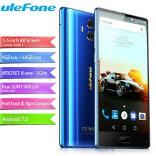 "All Screen 5.5"" Ulefone MIX 4+64GB 4G LTE Cellulare OctaCore 13MP Smartphone EU"