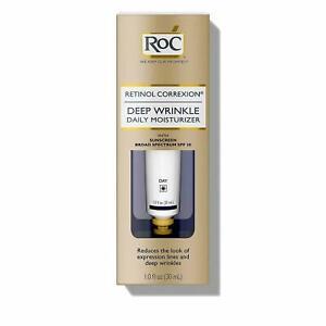 30ml RoC Retinol Correxion Deep Wrinkle Daily Moisturiser Day Cream SPF30 Unisex