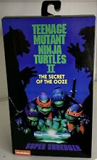 "New ListingNeca Teenage Mutant Ninja Turtles Super Shredder Deluxe Action Figure 7"" New #2"