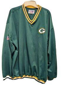 Green Bay Packers Vintage Pullover. NFLProLine XL Starter