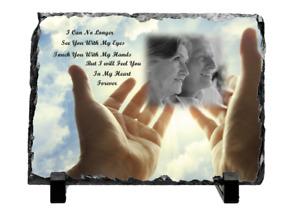 Personalised Memorial Rock Slate Grandparents Mum Dad Friends