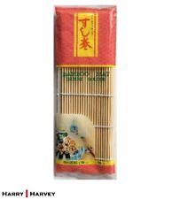 "Bamboo Mat Sushi Roller 9.5"" x 9.5"" square Japanese Japan fish restaurant food"