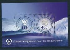 [CU043] Curacao 2011 Protection Poles and Glaciers Antartica Souv. Sheet MNH