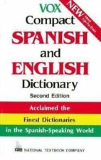 *NEW*  Vox Compact Spanish and English Dictionary  *FREE SHIPPING*