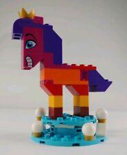 The LEGO Movie 2 QUEEN WATEVRA WA'NABI Horse Form Minifigure (70824) W/ Base