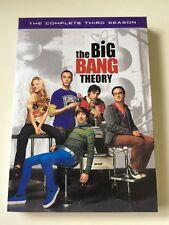 The Big Bang Theory: Third 3 Season (DVD, 2010, 3-Disc Set)