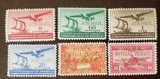PHILIPPINES STAMP American Occupation Airmail mint hinged original gum.