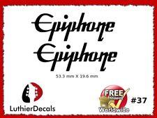 Epiphone Guitar Headstock Decal Restoration Waterslide Logo 37