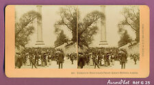 VUE STÉRÉO ANGLETERRE : ENTRÉE DE LA PARADE HORSE GUARDS,  1891-G25